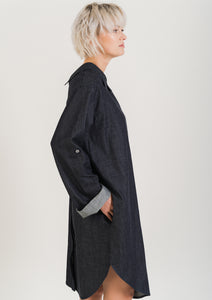 SHIRT Dress Denim Organic Cotton
