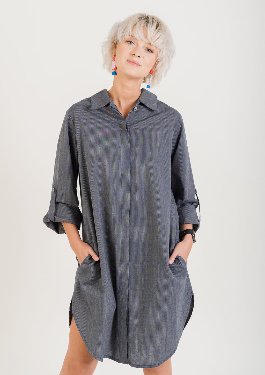 Hemp & Cotton SHIRT DRESS