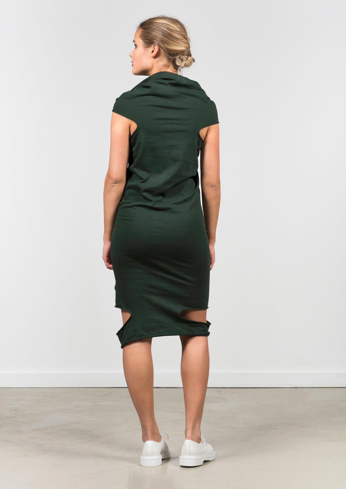 Dress MEIO DOUBLE DeepGreen