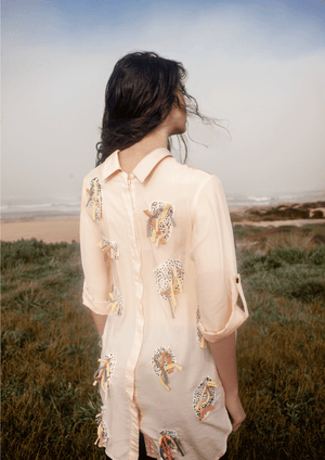 SHIRT Dress Tencel x ELLEONOR