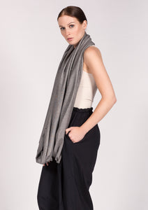 Organic cotton scarf ZERO