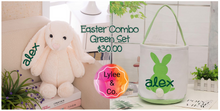 My First Easter Personalised Bunny and Basket Set - OUT OF STOCK