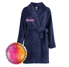 Dressing Gown 3/4 length - Personalised