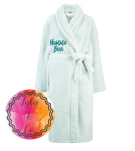 Dressing Gown full length - Personalised