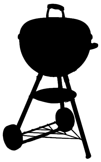 BBQ Kettle Inspired Car Decal