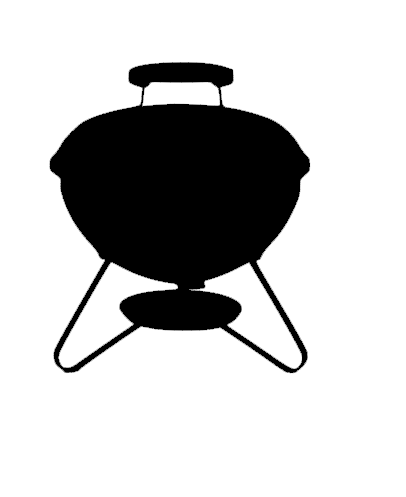 BBQ Smokey Joe Inspired Car Decal
