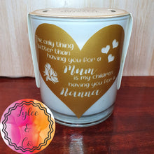 Scented Candle with Decal