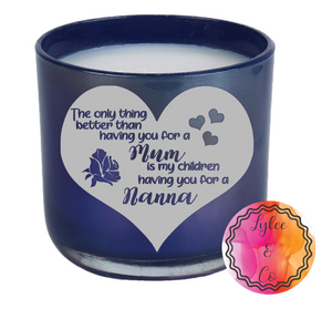 Mother's Day Candle - Personalised
