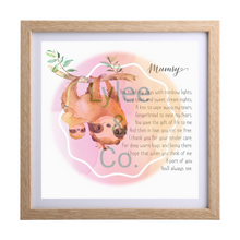 Framed Keepsakes for Mum