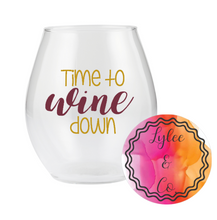 Glass Stemless Personalised - Vinyl
