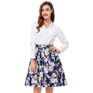 Belle Skirt With Pockets - Pocketry