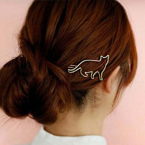 Cat Shape Hair Clip - Pocketry