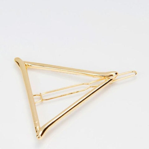Dainty Triangle Hair Clip - Pocketry