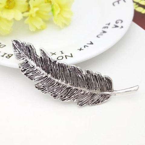 Feather Hair Clip - Pocketry
