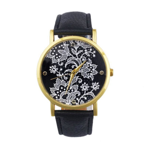 Floral Pattern Watch - Pocketry