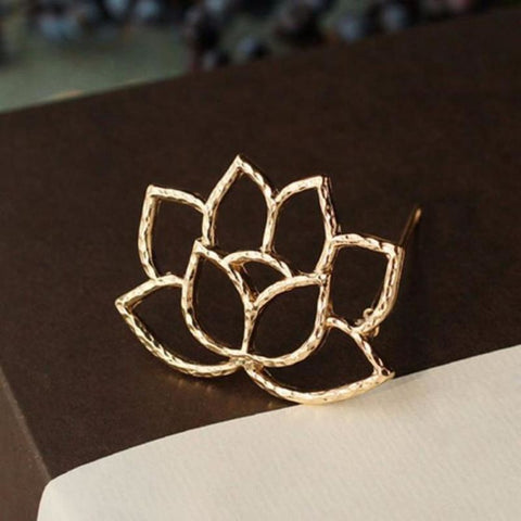 Lotus Flower Hair Clip - Pocketry