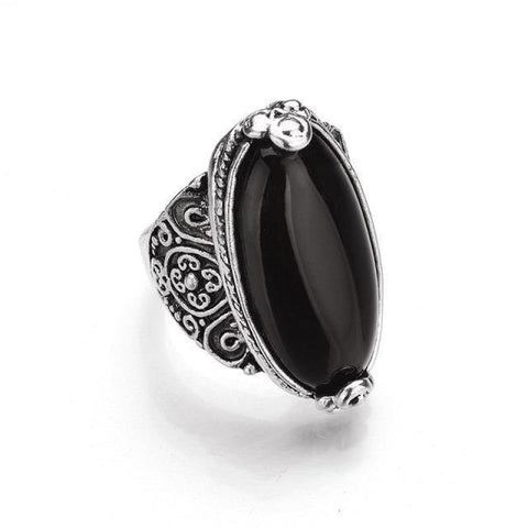 Oval Vintage Calaite Ring - Pocketry
