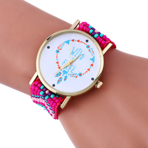 Fashion Weaving Watch Bracelet - Pocketry