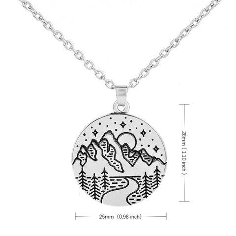Himalayas Mountain Necklace Pendants - Pocketry