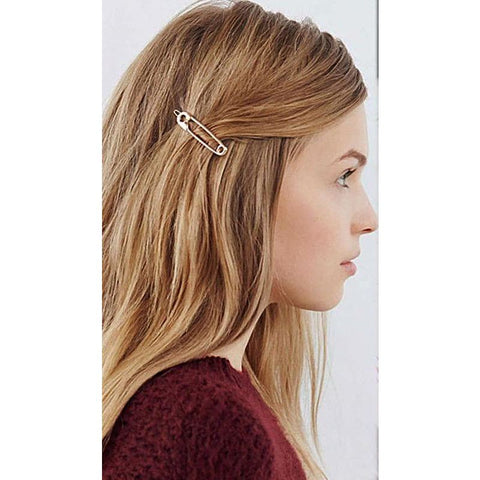 Safety Pin Hair Clip - Pocketry