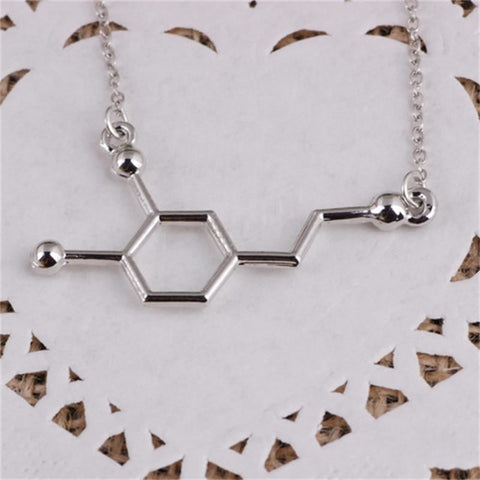 Silver Geometric Necklace - Pocketry