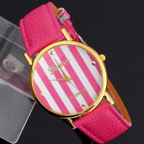 Stripped Pattern Watch - Pocketry
