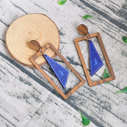 Wooden Earrings - Pocketry