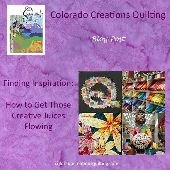 Finding Inspiration: How to Get Those Creative Quilting Juices Flowing