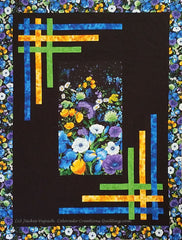 Daydream Blossoms quilt pattern by Jackie Vujcich for Colorado Creations Quilting