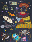 Quilt work from the Congo by Colorado Creations Quilting