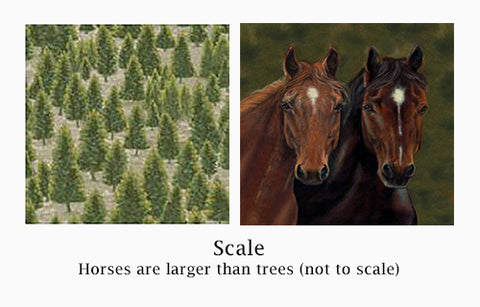 Scale-images-of-trees-and-horses