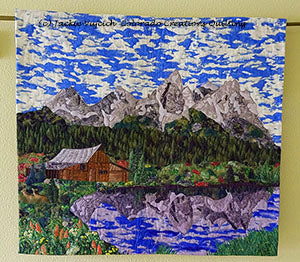 Grand Tetons by Jackie Vujcich available at Colorado Creations Quilting