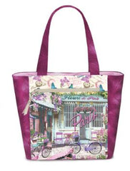 Tote using Fabric panels