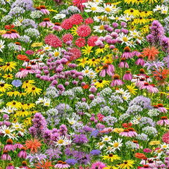 Multi-colored-wildflowers-by-Elizabeth's-Studio-available-at-Colorado-Creations-Quilting