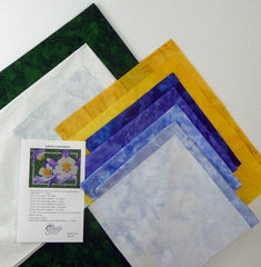 Colorful Columbine Quilt Kit by Colorado Creations Quilting