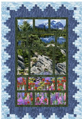 Mountain View Quilt by Pine Rose Designs