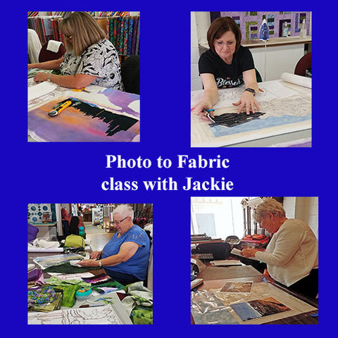 Features-4-students-taking-a-photo-to-fabric-quilt-class-with-Jackie-Vujcich