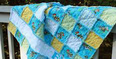 Image of rag quilt.
