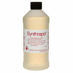 Bottle of Synthrapol used when washing fabrics for quilting or dyeing by Colorado Creations Quilting