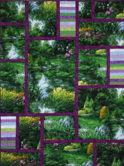 Park Landscape quilt using Michael Miller Fabric
