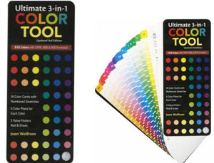 3 in 1 Color Tool by Joen Wolfrom available at Colorado Creations Quilting