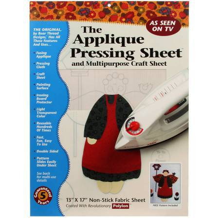 Applique Prressing Sheet front cover available at Colorado Creations Quilting