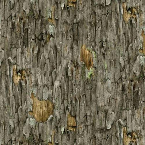 Gray Tree Bark Texture Cotton Fabric available at Colorado Creations Quilting