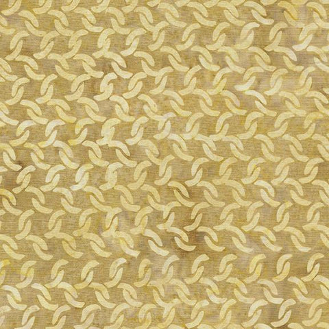 This tan tonal fabric features interlocking chain by Island Batiks. Available at Colorado Creations Quilting