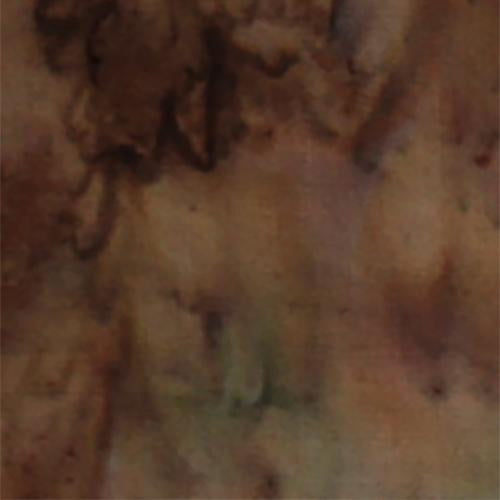Mottled Brown with Green Batik Cotton Fabric by Anthology