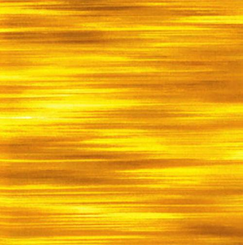 Striated (striped) yellow/gold Cotton Fabric