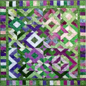 Savvy Strips quilt pattern by Colorado Creations Quilting  is jelly roll friendly