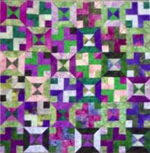 Savvy Strips quilt pattern variation by Colorado Creations Quilting