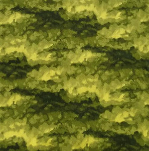 This cotton fabric features an olive green textrue. Fabric available at Colorado Creations Quilting