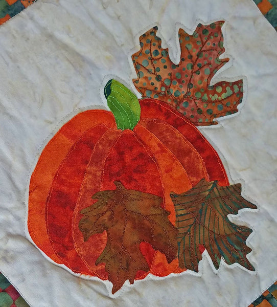 Fall Harvest Applique Quilt Pattern